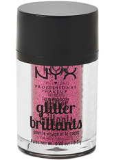 NYX PROFESSIONAL MAKEUP - NYX Professional Makeup Glitter Brilliants Face & Body Glitzer  2.5 g Nr. 02 - Rose - LIDSCHATTEN