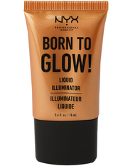 NYX Professional Makeup Born to Glow! Liquid Illuminator Highlighter  18 ml Nr. 03 - Pure Gold