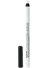 NYX PROFESSIONAL MAKEUP - NYX Professional Makeup Slide On Pencil  Eyeliner  1.2 g Nr. 04 - Pure White - KAJAL