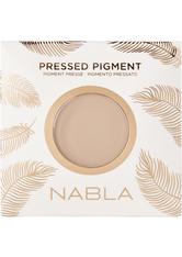 NABLA - Pressed Pigment Feather Edition - Coconut Milk - LIDSCHATTEN