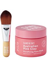 SAND & SKY - Brilliant Skin Purifying Pink Clay Mask - CREMEMASKEN
