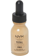 NYX Professional Makeup Total Control Pro Drop Controllable Coverage Foundation 13ml (Various Shades) - Nude