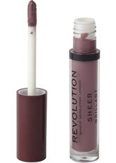 MAKEUP REVOLUTION - Makeup Revolution Sheer Lip Bouquet 117 - LIPGLOSS