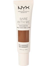 NYX Professional Makeup Bare With Me Tinted Skin Veil Flüssige Foundation 27 ml Nr. 11 - Deep Rich