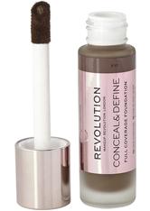 Makeup Revolution - Foundation - Conceal & Define Foundation F17