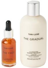 TAN-LUXE - The Face and The Gradual Duo MediumDark - Pflegesets