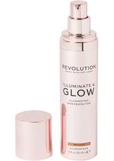 MAKEUP REVOLUTION - Illuminate & Glow Skin Perfector Bronze - Highlighter