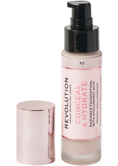 Revolution - Foundation - Conceal & Hydrate Foundation - F2