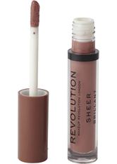 Revolution - Flüssiger Lippenstift - Sheer Lip - Chauffeur 110