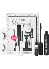 PUR - Life Of The Party Mascara; Liner And Lash Set - FALSCHE WIMPERN & WIMPERNKLEBER
