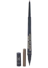 Infinity Power Brows Sketch And Sculpt Liquid Liner & Pencil Dark Brown