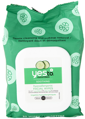 YES TO - Cucumbers Soothing Facial Wipes  Cucumbers Soothing Facial Wipes x 30 - CLEANSING