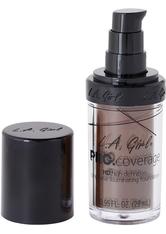L.A. Girl - Foundation - Pro Coverage Liquid Foundation - GLM 656 - Dark Chocolate