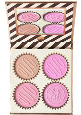 BH COSMETICS - Truffle Blush Quad  Vanilla Strawberry - ROUGE
