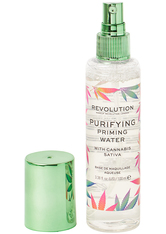 Purifying Priming Water with Cannabis Sativa