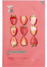 HOLIKA HOLIKA - Holika Holika - Gesichtsmaske - Pure Essence Mask Sheet - Strawberry - TUCHMASKEN