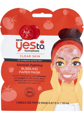 Yes To Tomatoes Blemish Fighting Bubbling Mask 20ml