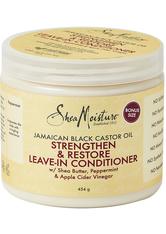 SHEA MOISTURE - Shea Moisture Jamaican Black Castor Oil Strengthen, Grow & Restore Leave-in Conditioner 431ml - Conditioner & Kur