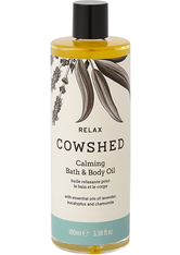Cowshed Relax Calming Bath & Body Oil 100 ml - Baden