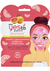 Yes To Grapefruit Brightening Bubbling Mask 20ml