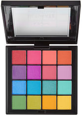 NYX Professional Makeup Ultimate Shadow Palette Lidschatten Palette  13.3 g Nr. 04 - Brights