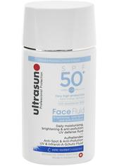 UltraSun Face Brightening & Anti-Pollution Fluid SPF 50+ 40 ml Gesichtsfluid
