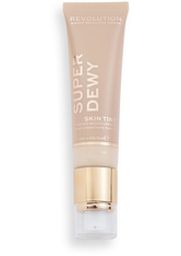MAKEUP REVOLUTION - Superdewy Tinted Moisturiser Light Beige - Bb - Cc Cream