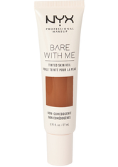 NYX PROFESSIONAL MAKEUP - NYX Professional Makeup Bare With Me Tinted Skin Veil Flüssige Foundation  27 ml Nr. 10 - Deep Mocha - Bb - Cc Cream