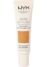 NYX PROFESSIONAL MAKEUP - NYX Professional Makeup Bare With Me Tinted Skin Veil Flüssige Foundation  27 ml Nr. 07 - Cinnamon Mahogany - Bb - Cc Cream