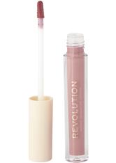 MAKEUP REVOLUTION - Makeup Revolution - Flüssiger Lippenstift - Nudes Collection Matte Buff - LIQUID LIPSTICK