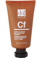 Dr Botanicals Produkte Coffee Superfood Renewing Facial Exfoliator Gesichtspflege 60.0 ml