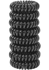 8 Pack Hair Coils Black