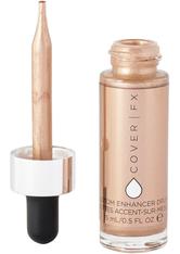 Cover FX Custom Enhancer Drops 15ml Rose Gold (Warm, Pearlescent Pink Bronze)