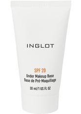 INGLOT Mattifying Under Makeup Base SPF 20 Primer  Transparent