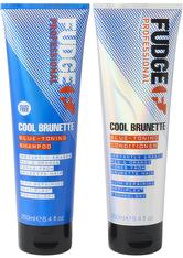 Fudge Care Cool Brunette Blue-Toning Duo 2x 250 ml Haarpflegeset