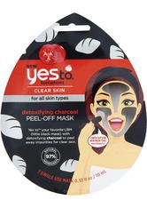 yes to Tomatoes Detoxifying Charcoal Peel-Off Mask Single Use