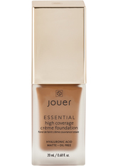JOUER COSMETICS - Essential High Coverage Creme Foundation - Carob - FOUNDATION