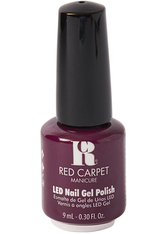 RED CARPET - Red Carpet Manicure Gel Polish - #134 Plum Up The Volume 9ml - Gel & Striplack