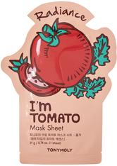 TONYMOLY - I'm Real Tomato Sheet Mask - TUCHMASKEN