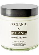 ORGANIC & BOTANIC - Organic & Botanic Mandarin Orange Shea Butter Körpercreme 100 ml - KÖRPERCREME & ÖLE
