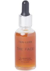 TAN-LUXE - The Face Illuminating Self-tan Drops – Medium/dark, 30 Ml – Bräunungsserum - one size