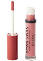 Revolution - Flüssiger Lippenstift - Sheer Lip - Glorified 106