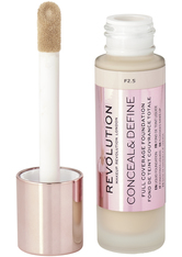 MAKEUP REVOLUTION - Revolution - Foundation - Conceal & Define Foundation - F2.5 - Concealer
