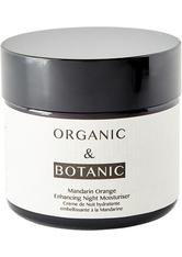 ORGANIC & BOTANIC - Organic & Botanic Mandarin Orange Enhancing Nachtcreme 50 ml - NACHTPFLEGE