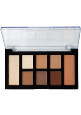 NYX Professional Makeup Matchy-Matchy Monochromatic Lidschatten Palette 7.4 g Nr. 01 - Taupe