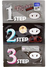 Holika Holika - Gesichtsmaske - Pig Clear Blackhead 3-Step Kit - Strong