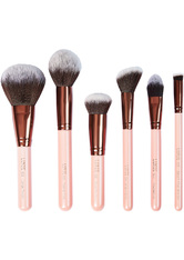 Face Essential Rose Gold 6 Piece Collection Brush Set