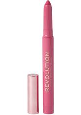 MAKEUP REVOLUTION - Velvet Kiss Lip Crayon Cutie - LIPLINER