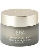INIKA Organic Phytofuse Renew Resveratrol Nachtcreme 50 ml