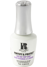 RED CARPET - Red Carpet Manicure Fortify & Protect Top Coat LED Gel Polish 9ml - Base & Top Coat
